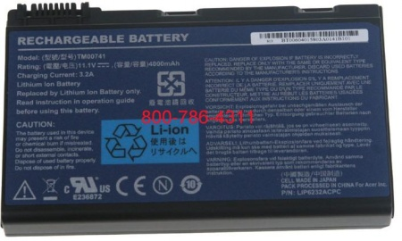 10.8V 11.1V ACER TRAVEL MATE TM-5730-6984 compatible battery